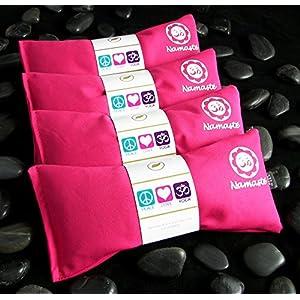 Happy Wraps Namaste Yoga Lavender Eye Pillow Pink Set of 4