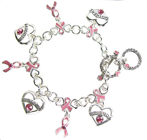 Being Strong is the Only Choice We Have Breast Cancer Awareness Toggle Bracelet - Cancer Awareness Toggle Bracelet