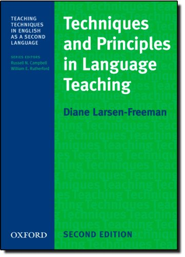 Techniques and Principles in Language Teaching (Teaching Techniques in English as a Second Language)