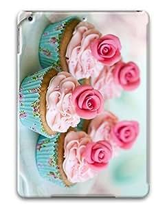 IMARTCASE Apple iPad Air Case, Rose Cupcake PC Hard Plastic Case for Apple iPad Air