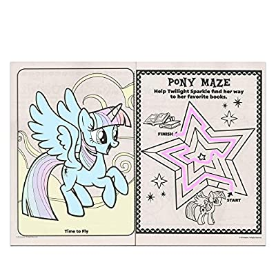 My Little Pony Jumbo Coloring and Activity Book 96 Pages 2pk by Bendon Publishing Intl: Toys & Games