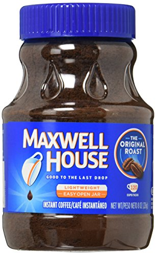 Maxwell House Original Blend Instant Coffee, Medium Roast, 3 Count, 24 Ounce