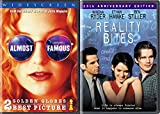 Teen Music Groupies - Almost Famous & Reality Bites (10th Anniversary Edition) 2-DVD Bundle