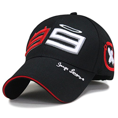 LOVEBLING Blinglove Jorge Lorenzo Limited Edition 99 Moto GP Racing Baseball Hat Peaked Cap