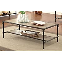 Furniture of America Billie Industrial Coffee Table