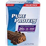 Pure Protein High Protein Bars, Chewy Chocolate Chip, 1.76 Ounce, 6 Count Review