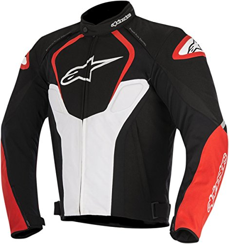 - Alpinestars Men's T-Jaws Air Jacket (Black/White/Red, Small)