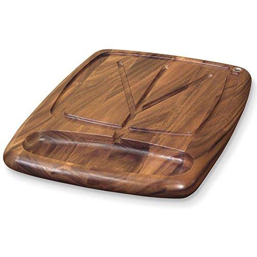 Ironwood Gourmet 28103 Kansas City Carving Board, Acacia Wood (Board Carving Wooden)