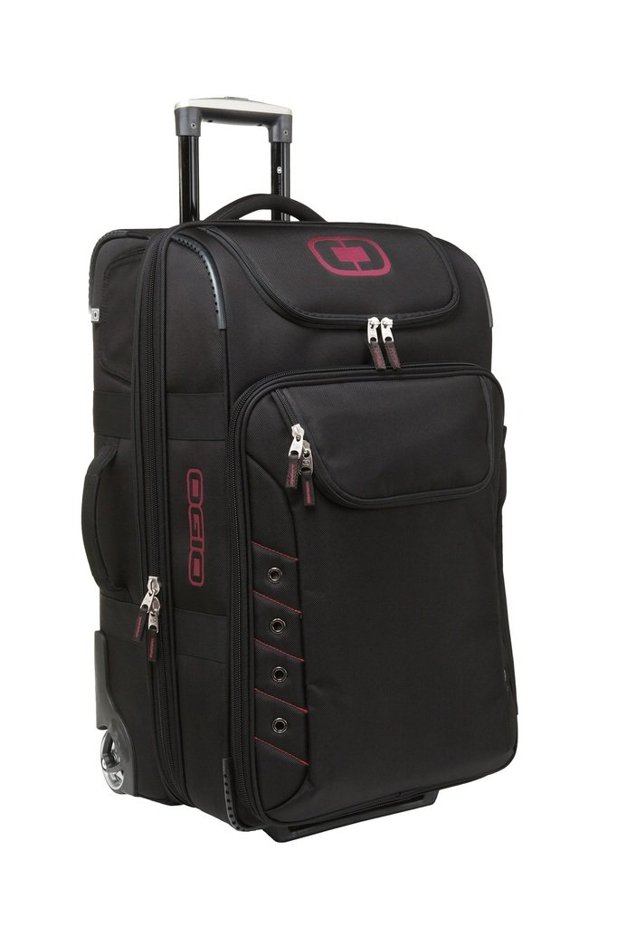 Ogio Canberra 26 Travel Bag Color: Black/Signal Red Black/Signal Red 413006