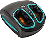 Shiatsu Foot Massager Machine with Heat - Electric Deep Kneading Massage & Air