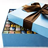 MarieBelle's Cien Blue Box - 100 piece Chocolate Box