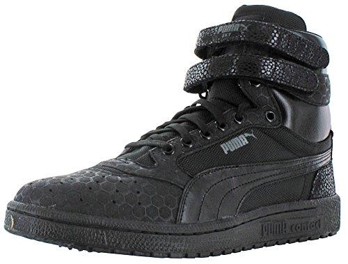 361868-01 MEN SKY II HI MONO CRACKLE PUMA BLACK/DARK SHADOW Black/Dark Shadow cheap discounts fashion Style for sale clearance enjoy free shipping hot sale outlet many kinds of 89OcyCBRT