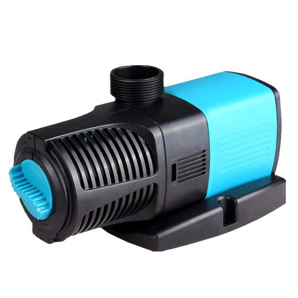 Black 21WLIFUREN Fish Tank Oxygen Pump Water Pump Silent Frequency Conversion Aquarium Fish Pond Pump Amphibious Pump Large Flow (color   Black, Size   21W)