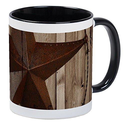 CafePress Western Texas Star Mugs Unique Coffee Mug, Coffee ()