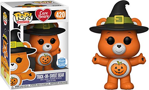 - Funko POP! Animation: Trick Or Sweet Bear Funko Shop Exclusive Care Bears #420