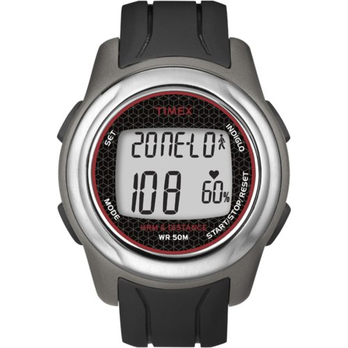 Timex Full-Size T5K560 Health Touch Plus Heart Rate Monitor Watch (Health Touch Timex)