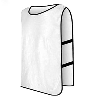 Adultos Niños Deportes Fútbol Fútbol Baloncesto Formación baberos Top  chaleco equipo uniforme 88ca05f0bf2d6