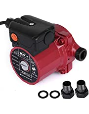 """Happybuy 3/4"""" 110V Hot Water Circulation Pump 9.5 GPM 3-Speed Hot Water Circulating Pump RS15-6 Red Water Circulation Pump for Solar Heater Systems"""