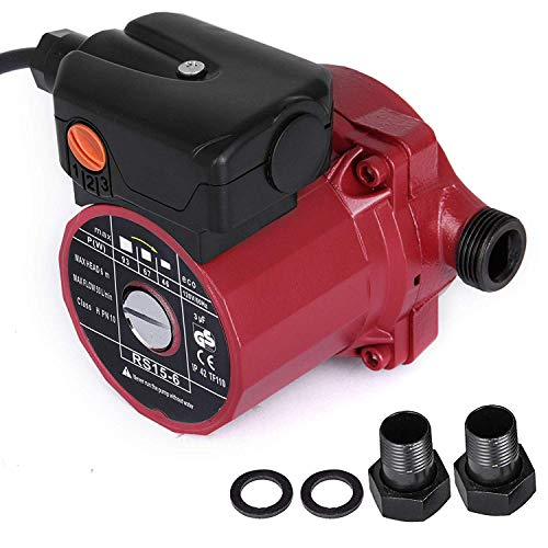Happybuy RS15-6 Hot Water Recirculating Pump 110V Circulation Pump 3/4