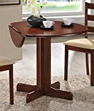 Table Only 36'' Drop Leaf Table Solid Wood Top Cherry Finish