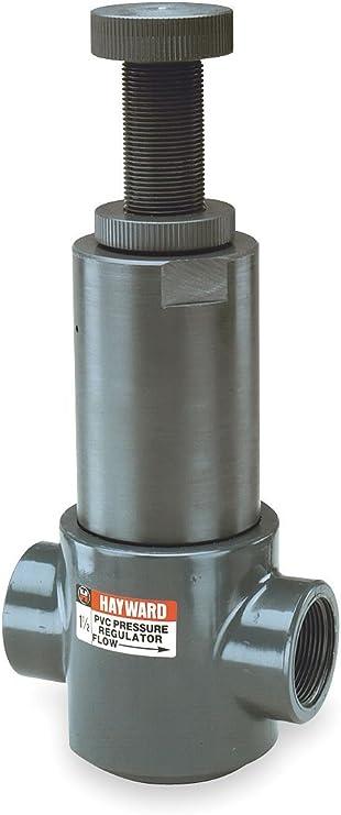 1//2 Size Threaded End PVC Body Hayward PR10050T Series PR Pressure Regulator Valve