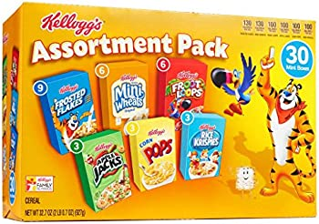 30-Ct. Kelloggs Breakfast Cereal Assortment Pack