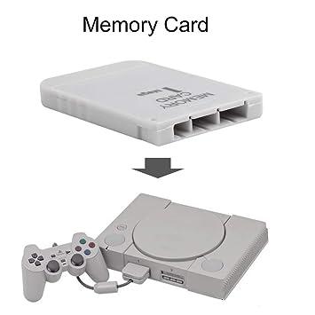 FairytaleMM Tarjeta de Memoria PS1 1 Mega Memory Card para ...
