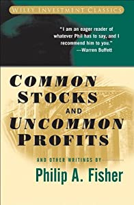 Common Stocks And Uncommon Profits Other Writings