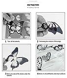 Vintage Flower Sticker Pack   Artsy Decals for