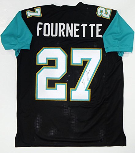 Leonard Fournette Autographed Black Pro Style Jersey  Jsa W Authenticated