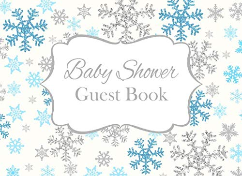 Baby Shower Guest Book: Baby It's Cold Outside Advice for Parents and Gift Log ()