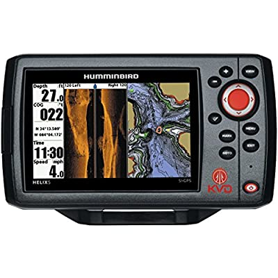Humminbird 409640-1 HELIX 5 SI Fish Finder with Side-Imaging and GPS from Sportsman Supply Inc.