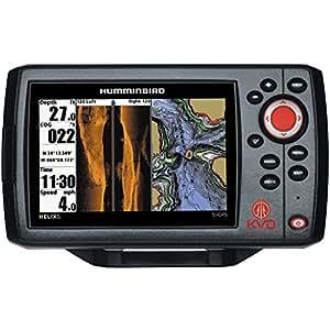 Amazon.com: Humminbird Helix 5 SI GPS KVD Combo, Negro ...