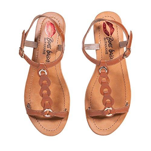 Baisers Sandales Sahara Tan Bons Paname De A4CxHwpqp