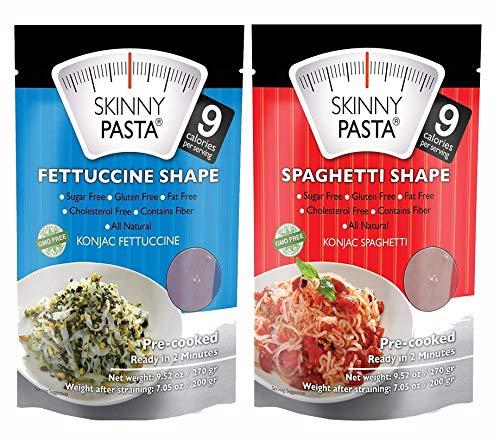 Paquete variado de pasta Skinny | fideos Shirataki para ...