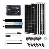 RENOGY Solar Panel 400W Mono Battery Ready Kit with Advanture Controller