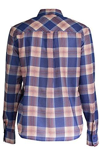 432335 Con Gant Azul Las Camisa Mujer 448 1503 Largas Mangas 4qOvwCP
