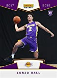 #8: 2017-18 Panini Instant NBA Basketball #5 Lonzo Ball Rookie Card - 1st Card in a Los Angeles Lakers Uniform - Only 3,289 made!