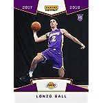 c6a9b9a2bad 2017-18 Panini Instant NBA Basketball  5 Lonzo Ball Rookie Card - 1st Card.