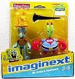 Imaginext, SpongeBob SquarePants, Mr. Krabs and Squidward Exclusive Action Figures