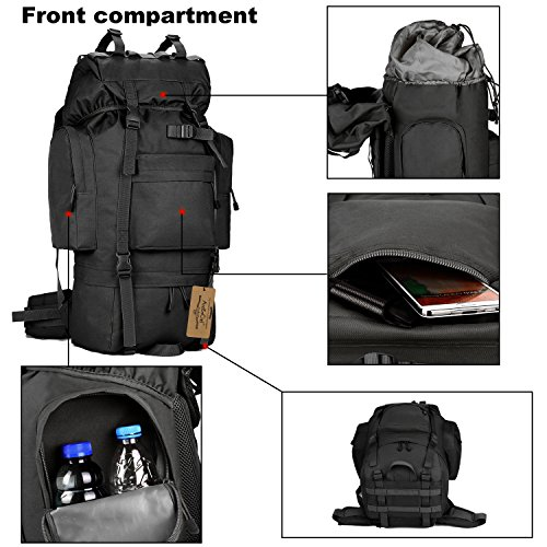 375a4b694f7d ArcEnCiel Waterproof Tactical Giant Hiking Camping Backpack with ...