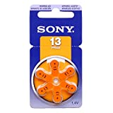 SONY Hearing Aid Batteries Size 13, 1.45 Volts (300 pcs)