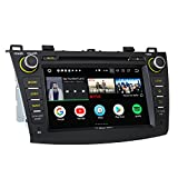 Cheap Eonon Newest Android 8.0 Car Stereo Radio 4GB RAM +32GB ROM Octa-Core 8 Inch in Dash Touch Screen Car Radio Audio Applicable to Mazda 3 Series 2010,2011,2012 and 2013 with Bluetooth WiFi -GA9163A