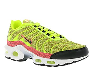 Nike Womens Air Max Plus Se Womens Running Trainers 862201 Sneakers Shoes (UK 3.5 US 6 EU 36.5, Volt Black Hot Punch 700)