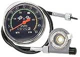 AceList Old School Style Bicycle Speedometer Fits 26-27in. Wheels