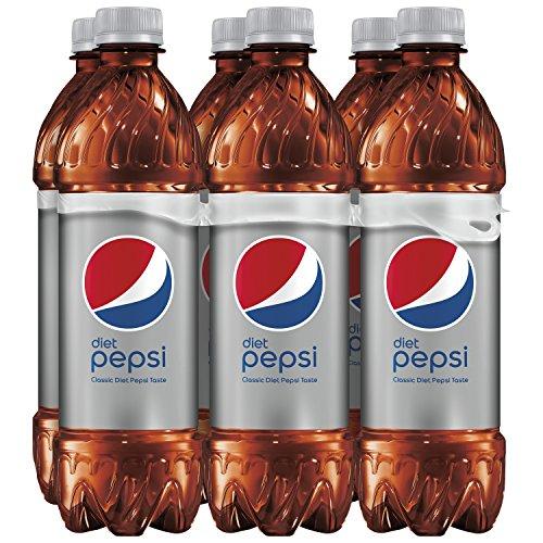 Diet Pepsi, 16.9 ounce Bottles, 6 Count