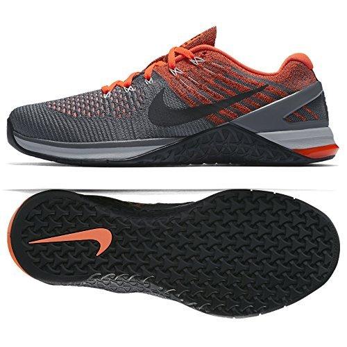 DSX Metcon 12 WolfGrey DarkGrey HyperCrimson Mens Nike Flyknit qE4vw5