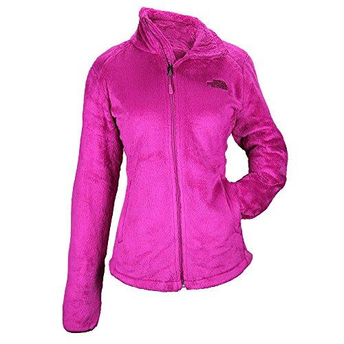 North Face Tech-Osito Jacket Womens Luminous Pink/Dramati...