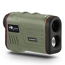 Laser Rangefinder for Golf Hunting, Range Finder with Flagpole Lock - Ranging - Speed Function