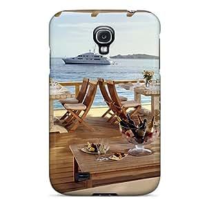 New Premium Flip Case Cover Restaurant Skin Case For Galaxy S4
